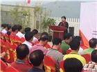 吴雅琳老师在展览开幕式上发表演讲
